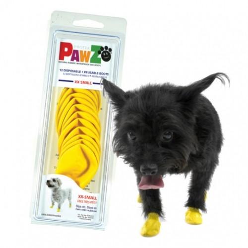 bottillons de protection pawz convalescence du chien et du chat wanimo. Black Bedroom Furniture Sets. Home Design Ideas
