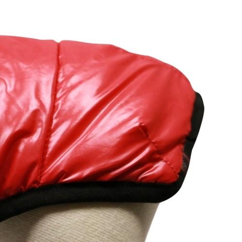 Manteau & compagnie - Doudoune Oggy - Rouge/Noir pour chiens
