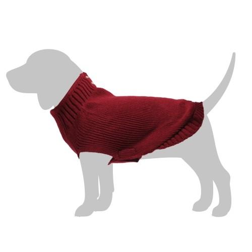 Manteau & compagnie - Pull School - Rouge pour chiens