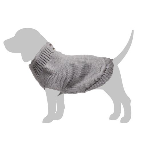 Manteau & compagnie - Pull School - Gris pour chiens