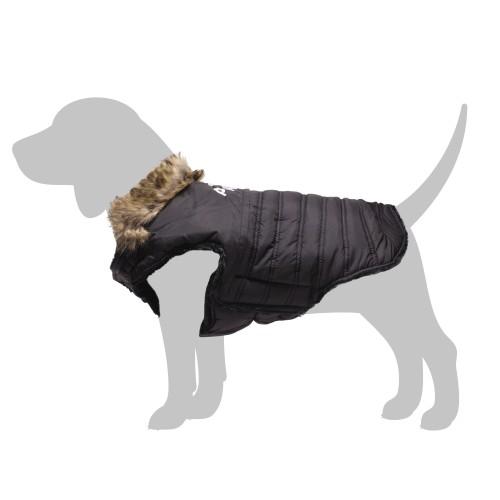 Manteau & compagnie - Doudoune Faubourg - Noir pour chiens