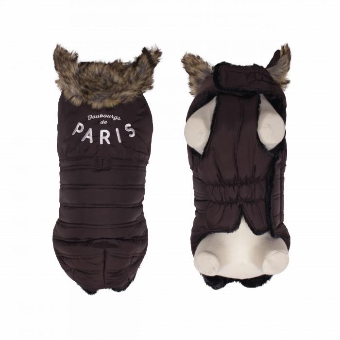 Manteau & compagnie - Doudoune Faubourg - Marron pour chiens