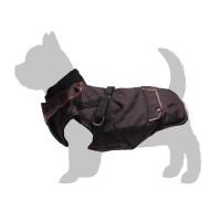Manteau pour chien - Manteau Trotte avec harnais intégré - Marron Bobby