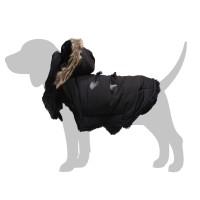 Manteau pour chien - Manteau Capuche Mountain - Noir Bobby
