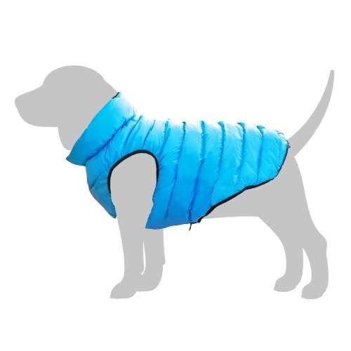 Manteau & compagnie - Doudoune AiryVest - Bleu / Vert pour chiens