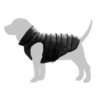 Manteau pour chien - Doudoune AiryVest - Noir / Rouge Collar