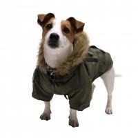 Manteau & compagnie - Manteau pour chien Birmingham kaki