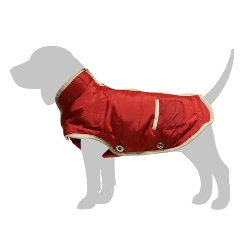 Manteau & compagnie - Doudoune Frisson Rouge pour chiens