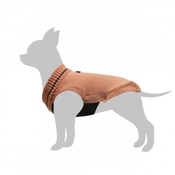 Manteau & compagnie - Pull Basic Rose Clair pour chien pour chiens
