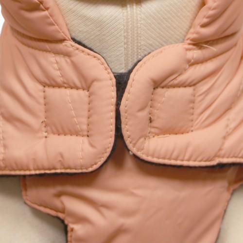 Manteau & compagnie - Doudoune Basic Rose Claire pour chien pour chiens