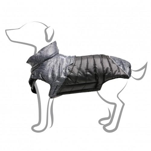 Manteau & compagnie - Manteau pour chien Life Noir pour chiens