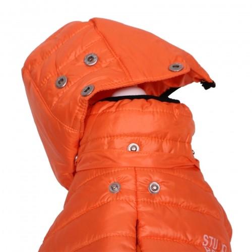 Manteau & compagnie - Doudoune Studio - Orange pour chiens