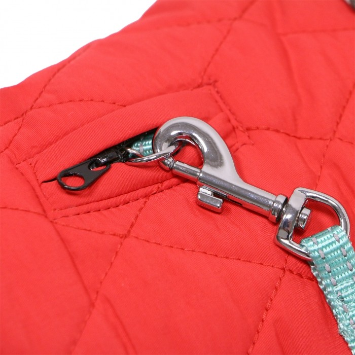 Manteau & compagnie - Manteau Tartan - Rouge pour chiens