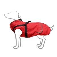Manteau pour chien - Manteau Trotte avec harnais intégré - Rouge Bobby