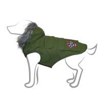 Manteau pour chien - Manteau Explorateur - Vert Canada Pooch