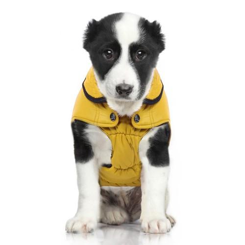 Manteau & compagnie - Doudoune Fuji Mustard pour chiens