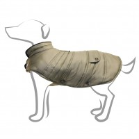 Manteau pour chien - Manteau pour chien Iceberg Kaki Milk & Pepper