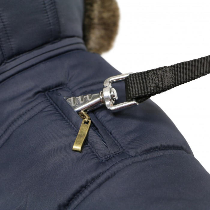 Manteau & compagnie - Manteau pour chien Whistler Bleu pour chiens