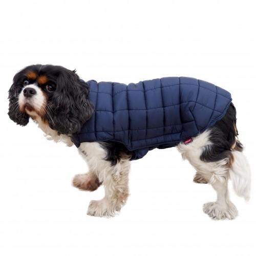 Manteau & compagnie - Doudoune Imper Club - Bleu pour chiens