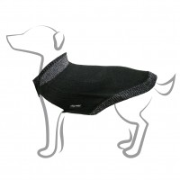 Pull pour chien - Pull Col Claudine - Noir Martin Sellier