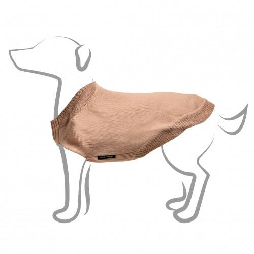 Manteau & compagnie - Pull Col Claudine - Rose pour chiens
