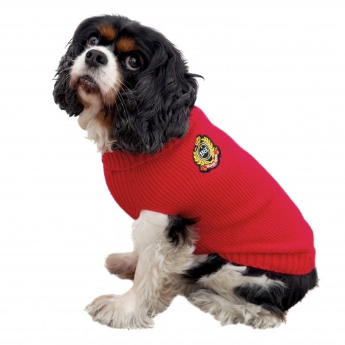 Pull pour chien - Pull British - Rouge Bobby