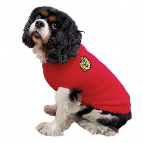 Manteau & compagnie - Pull British - Rouge pour chiens