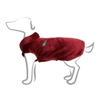 Pull polaire pour chien - Pull Snowflake - Rouge Bobby