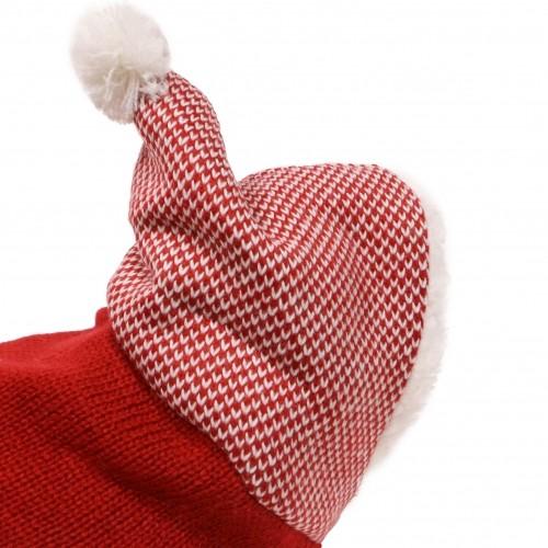 Manteau & compagnie - Pull Capuche Chiné - Rouge pour chiens