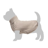 Pull pour chien - Pull Casual Chic - Beige Zolux