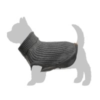 Pull pour chien - Pull Casual Chic - Gris Zolux