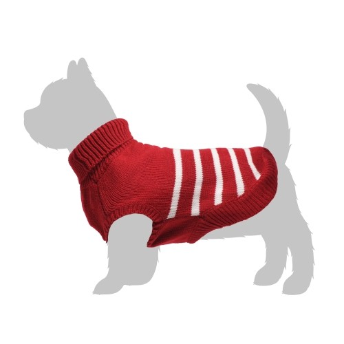 Manteau & compagnie - Pull Marin - Rouge pour chiens