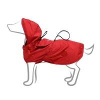 Imperméable pour chien - Imper pliable - Rouge Wouapy