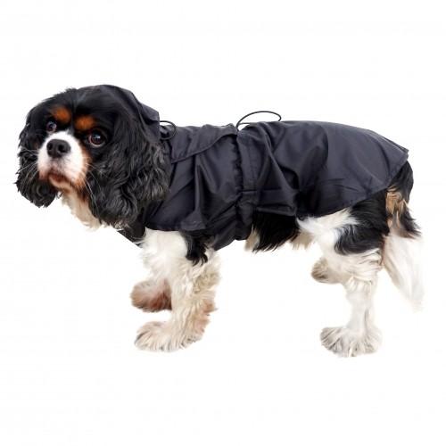 Imperméable pour chien - Imper pliable - Noir Wouapy
