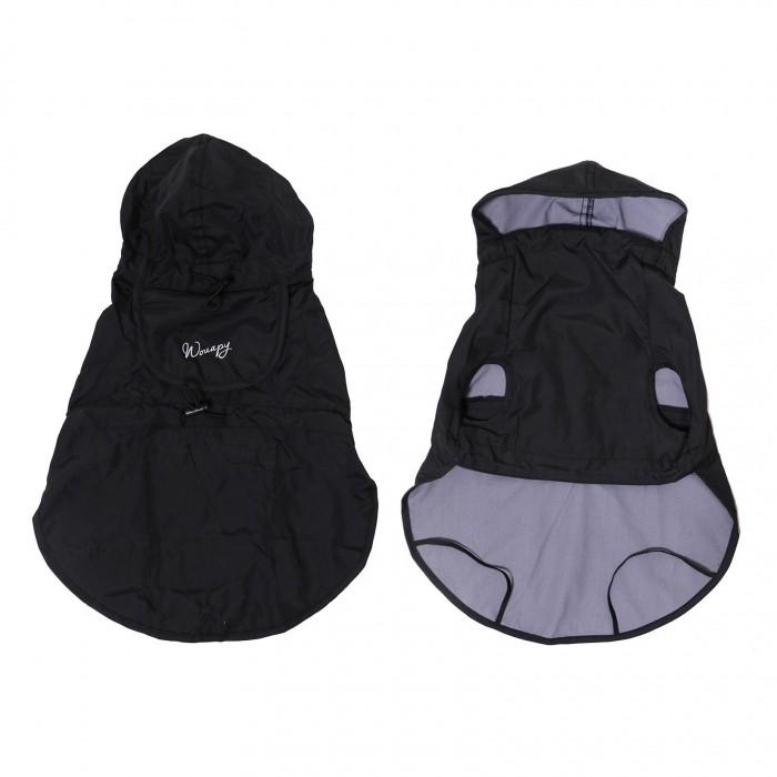 Manteau & compagnie - Imper pliable - Noir pour chiens