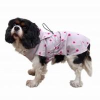 Imperméable pour chien - Imper pliable - A pois Wouapy
