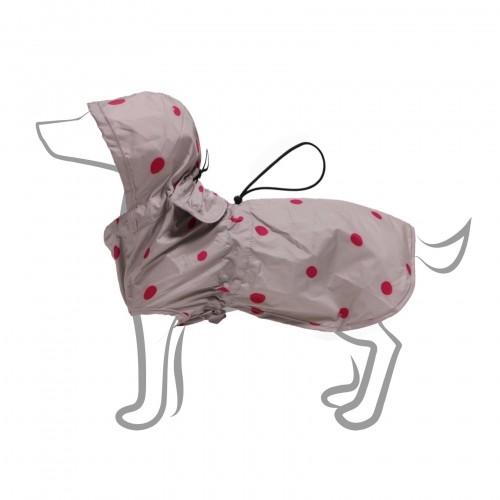 Manteau & compagnie - Imper pliable - A pois pour chiens