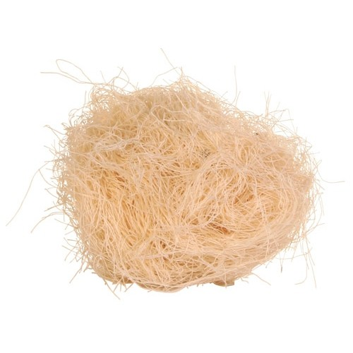 Nichoir et lit douillet - Fibre pour nid pour oiseaux