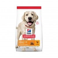 Croquettes pour grand chien de 1 à 6 ans - Hill's Science Plan Light Large Adult Light Adult Large