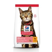 Croquettes pour chat de 1 à 6 ans - Hill's Science Plan Light Adult Light Adult