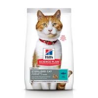 Croquettes pour chat stérilisé de 6 mois à 6 ans - HILL'S Science Plan Sterilised Cat Young Adult - Thon