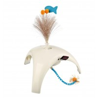 Jouet intéractif pour chat - Feather Spinner Trixie