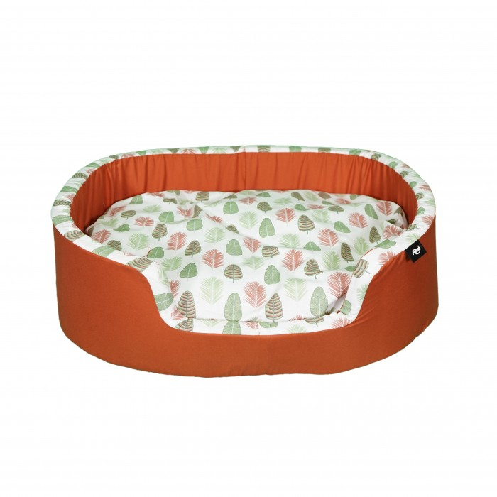 Panier et coussin pour chien - Corbeille Sweet Tropical pour chiens
