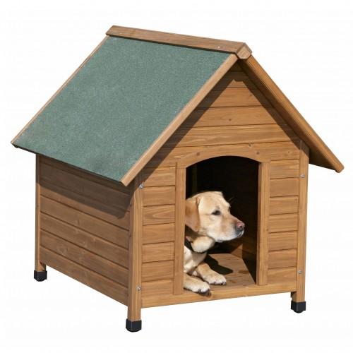 Panier et coussin pour chien - Niche en bois Classic pour chiens