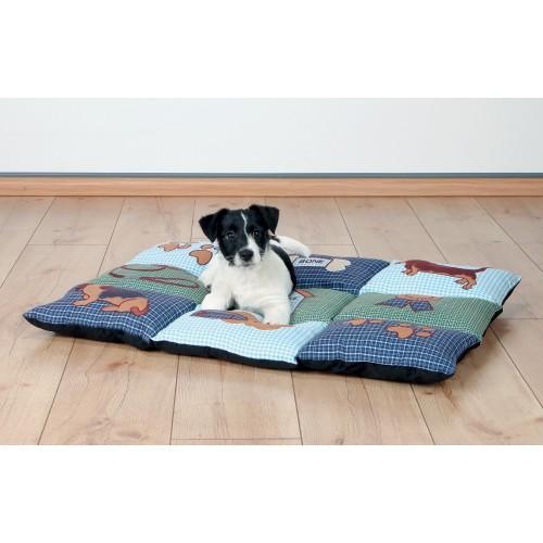 Panier et coussin pour chien - Tapis Patchwork pour chiens
