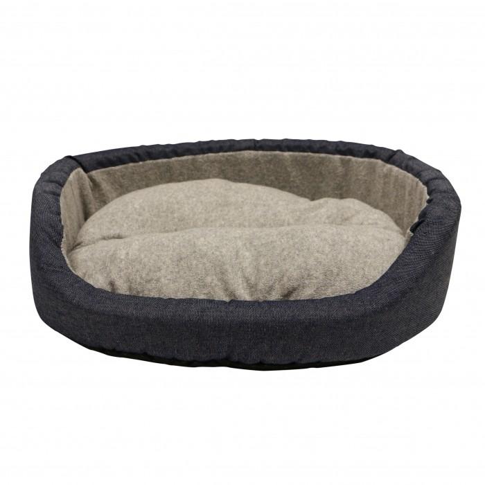 Panier et coussin pour chien - Corbeille ovale Holidays pour chiens