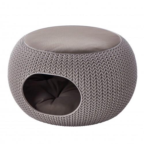 Panier et coussin pour chien - Dôme Cozy Pet Home pour chiens