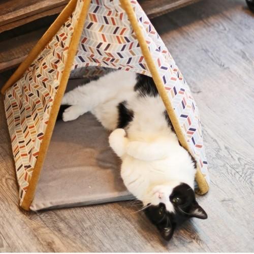 Couchage pour chat - Tipi Cancun pour chats