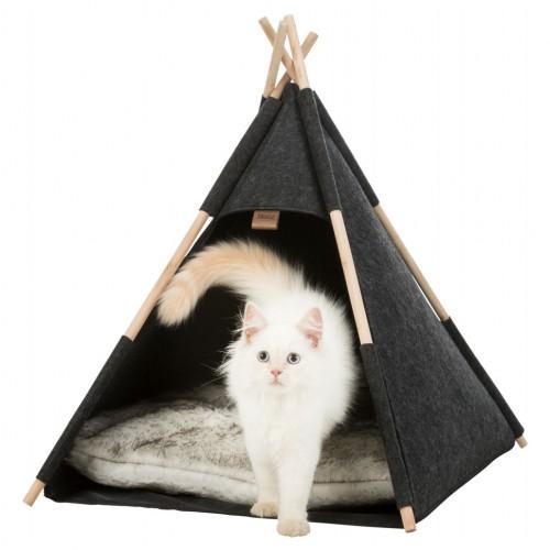 Couchage pour chat - Tipi Feutri pour chats