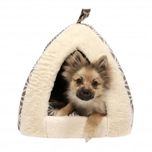 Panier et coussin pour chien - Tipi Edelweiss pour chiens